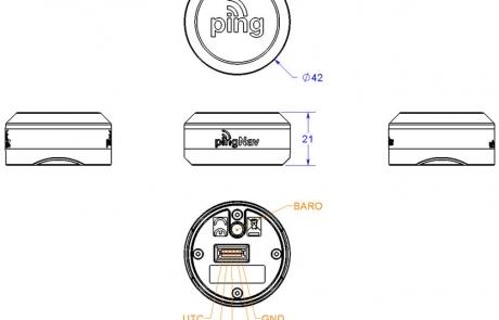 pingNAV dimensions
